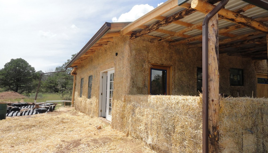 3-4-View-Straw-Bale-House
