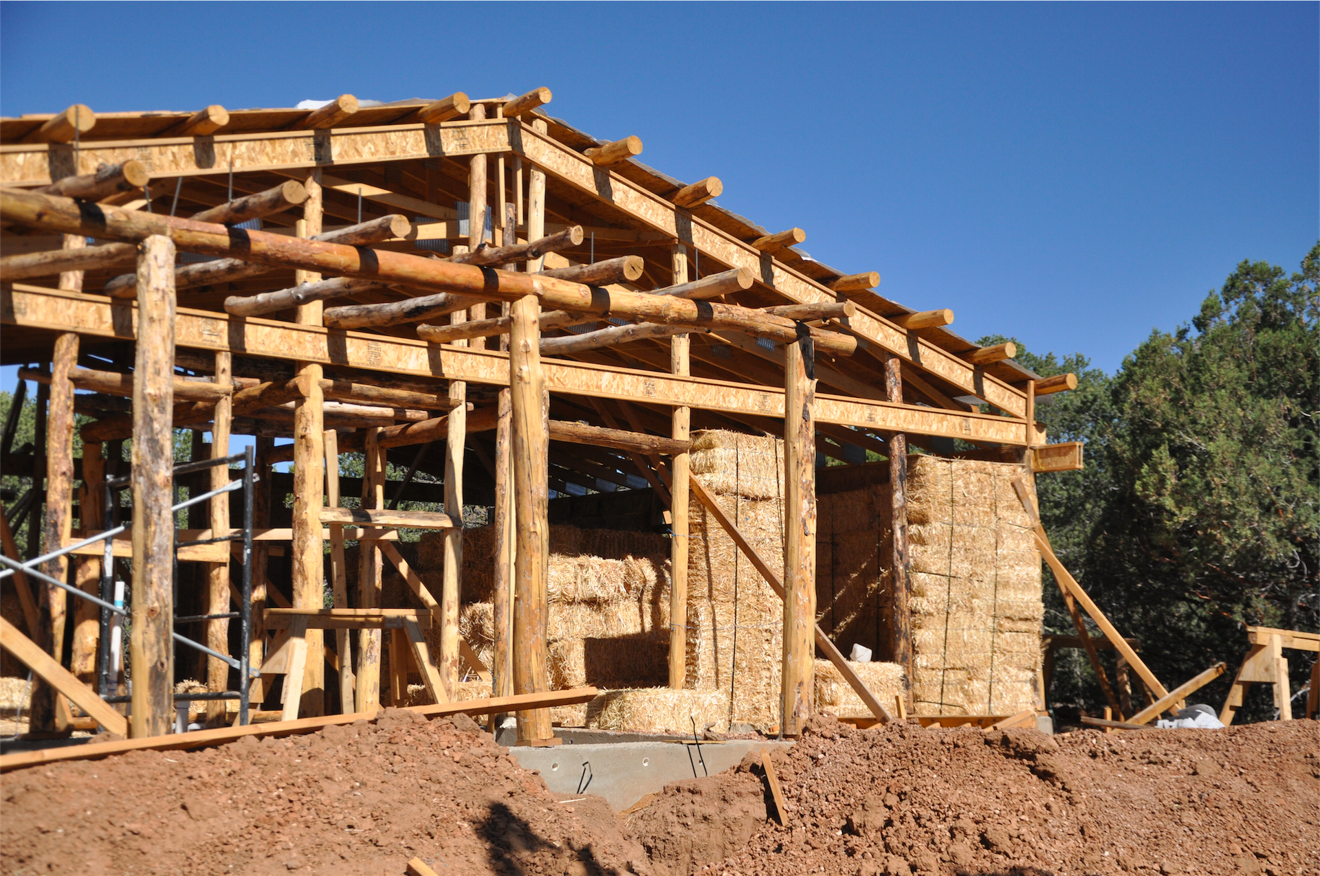 Straw Bale Construction Load Bearing Vs Post And Beam
