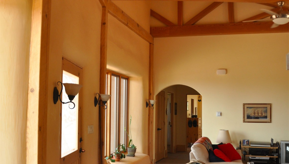 Straw Bale Home Livingroom Cathedral Ceiling-1920x700_mini
