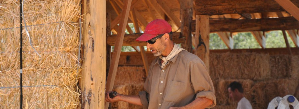 Cadmon Whitty Straw Bale Builder New Mexico Paja Construction