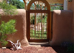 straw bale privacy wall albuquerque